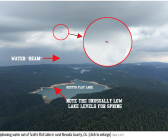 Water sucking UFO drains California Lake